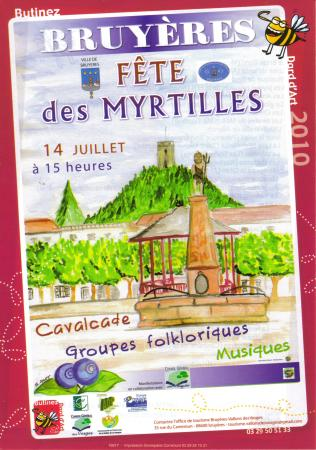 Fête des myrtilles 2010