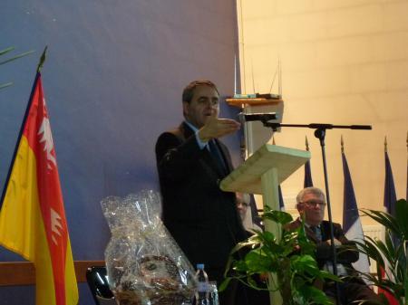 Xavier Bertrand à Plainfaing