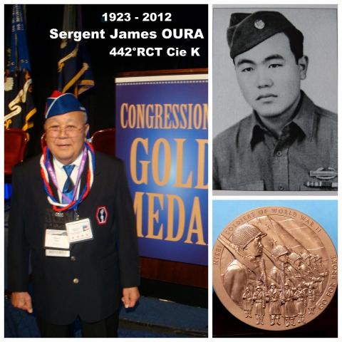 Sergent James OURA Cie K 442° RCT Médaille d'or du Congrès.JPG
