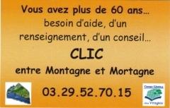 CLIC entre Montagne et Mortagne
