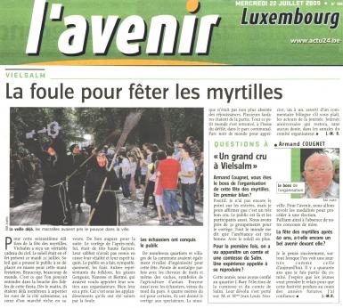 Fête des Myrtilles 21 Juillet 2009- Avenir Luxembourg 22.07.09.jpg