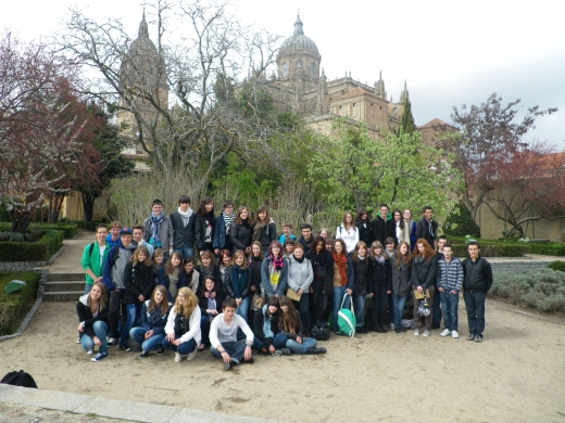 PHOTO GROUPE VOYAGE SALAMANCA 2012.JPG