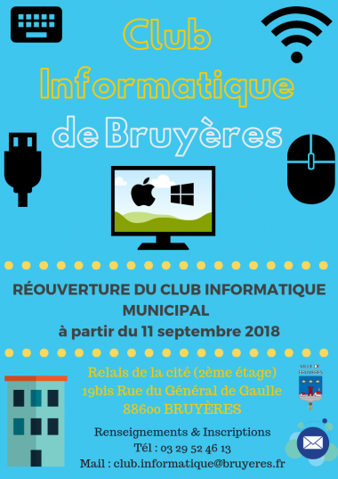 Flyer Réouverture CLUB INFORMATIQUE 2018 (Recto-Verso OK).png