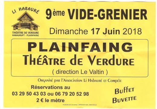 9ème Vide grenier 17 juin 2018 Li Habauré 001.jpg