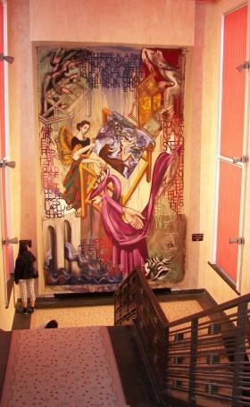 tapisserie à l'Hotel de Ville d'Aubusson.JPG